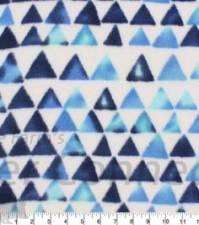 Blue Indigo Triangles