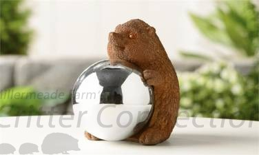 Gazing Ball Figurine