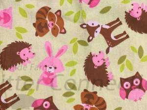 Lime Forest Animals