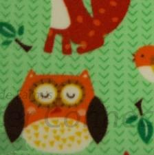 Green Woodland Animals