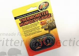 Thermometer Humidity Gauge