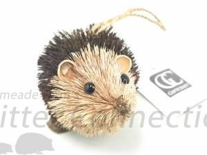 Natural Fiber Hedgehog Ornament