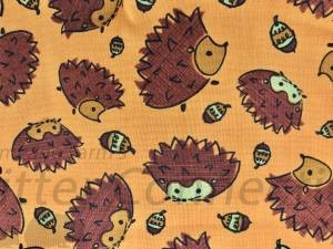 Orange Hedgehogs Acorns