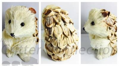 Rustic Hedgehog Decor