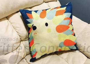 Hedgehog Pillow Cover