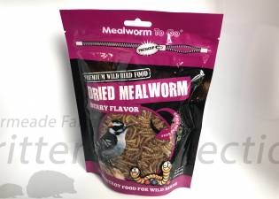 Dried Mealworms - Berry Flavor