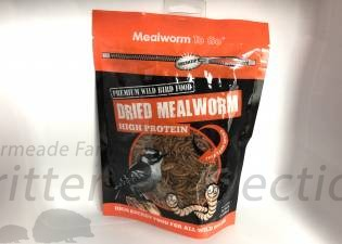 Dried Mealworms - High Protein