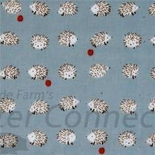 Country Blue Tiny Hedgehogs
