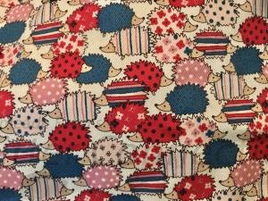 Red & Blue Patterned Hedgies