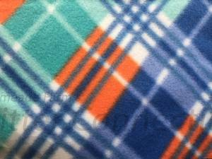 Orange-Blue-Green Plaid