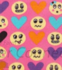 Pink Love Emoticons