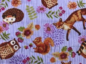 Lilac Forest Animals