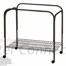 Marchioro Vekto 120 Cage Stand, 46 inches, Black