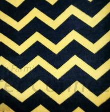 Black Yellow Chevron