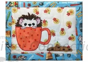 Cookie Time-Mug Rug