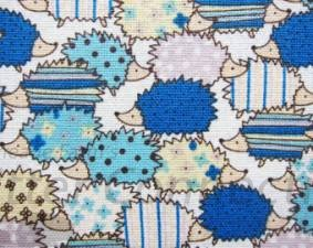 Blue Patterned Hedgehogs