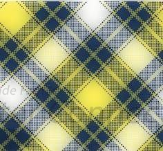 Navy-Yellow Plaid