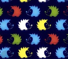 Navy Multi Color Hedgies