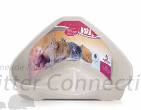 Marchioro Corner Litter Pan