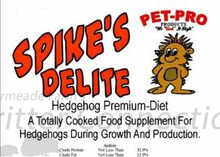 Spike's Delight Premium Diet